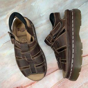 Dr. Marten Airwalk Vintage Platform Sandals 8